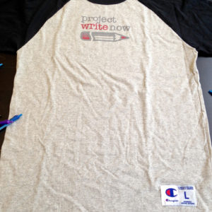 Project Write Now - Baseball Tee