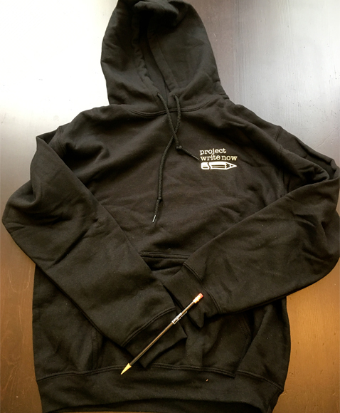 Project Write Now - Black Hoodie