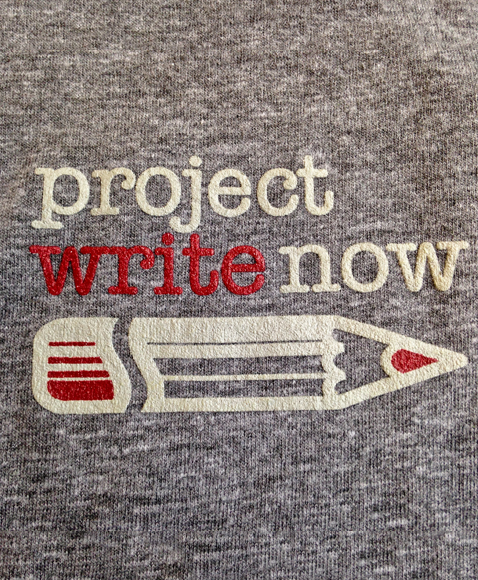 Project Write Now - Tee Shirt